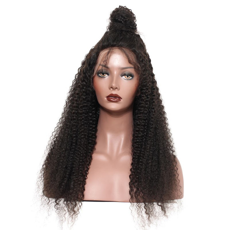Kinky Curly Full Lace Wig, 100% Virgin Hair Curly Wigs For Women flw012 1