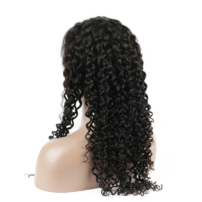 Human Hair Wig, Curly Lace Front Wig Smooth Like Silk, 10-24 inch lfw003 2