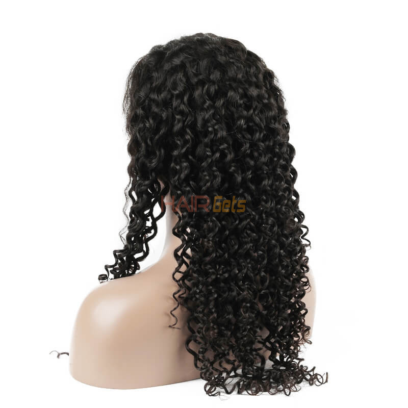 Human Hair Wig, Curly Lace Front Wig Smooth Like Silk, 10-24 inch 2