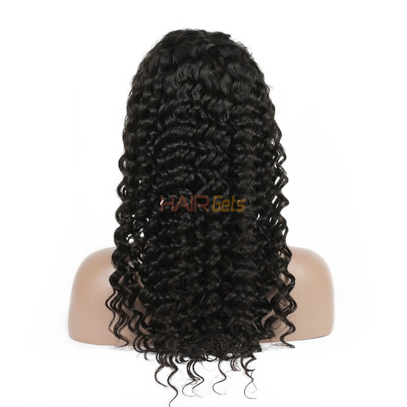 Soft As Silk Deep Wave Lace Human Hair Wig, 12-28 inch Lace Front Wig 2
