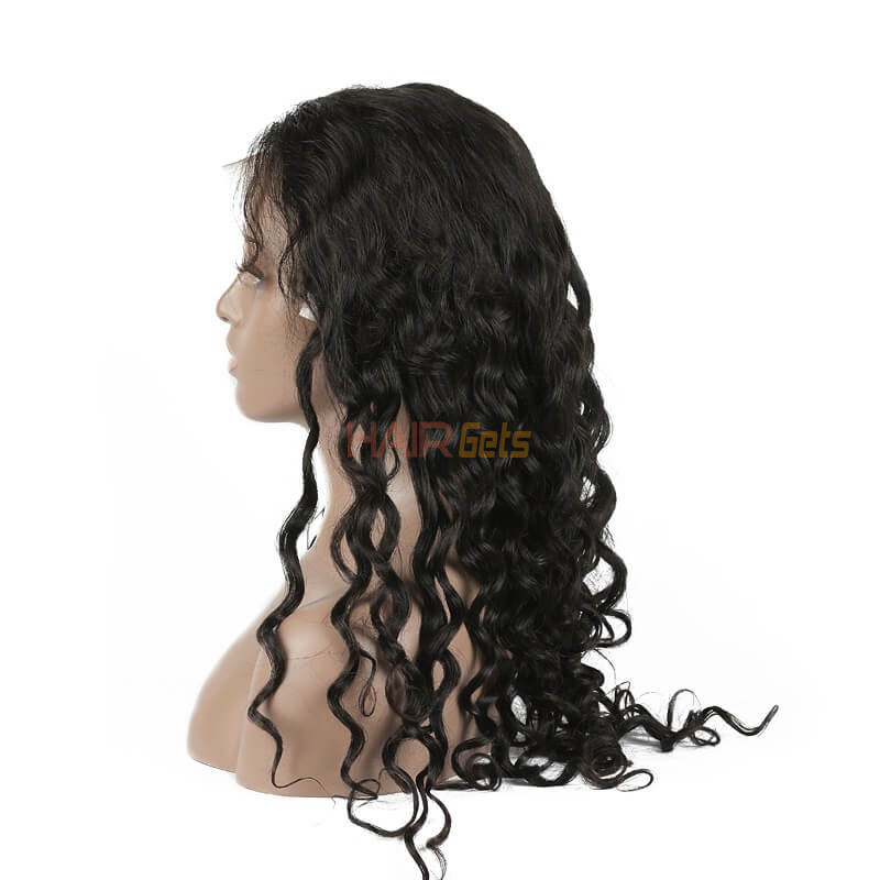 Natural Wave Lace Front Wig, 10-28 inch Beautiful & Bouncy Wigs 0