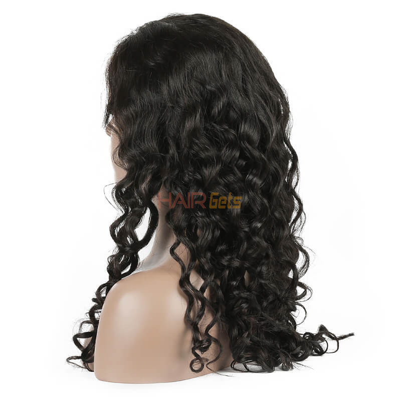 Natural Wave Lace Front Wig, 10-28 inch Beautiful & Bouncy Wigs 1