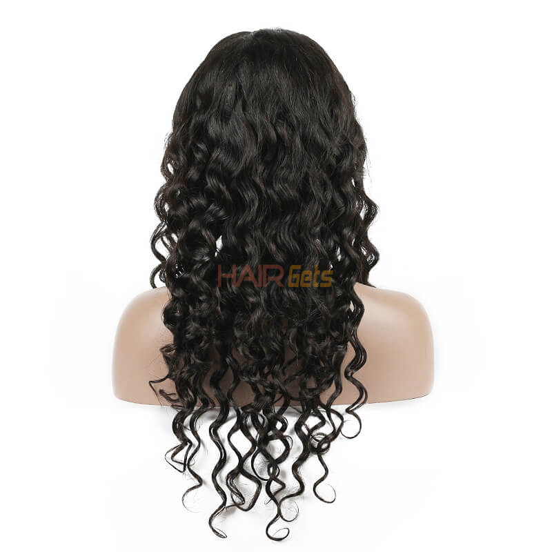 Natural Wave Lace Front Wig, 10-28 inch Beautiful & Bouncy Wigs 2