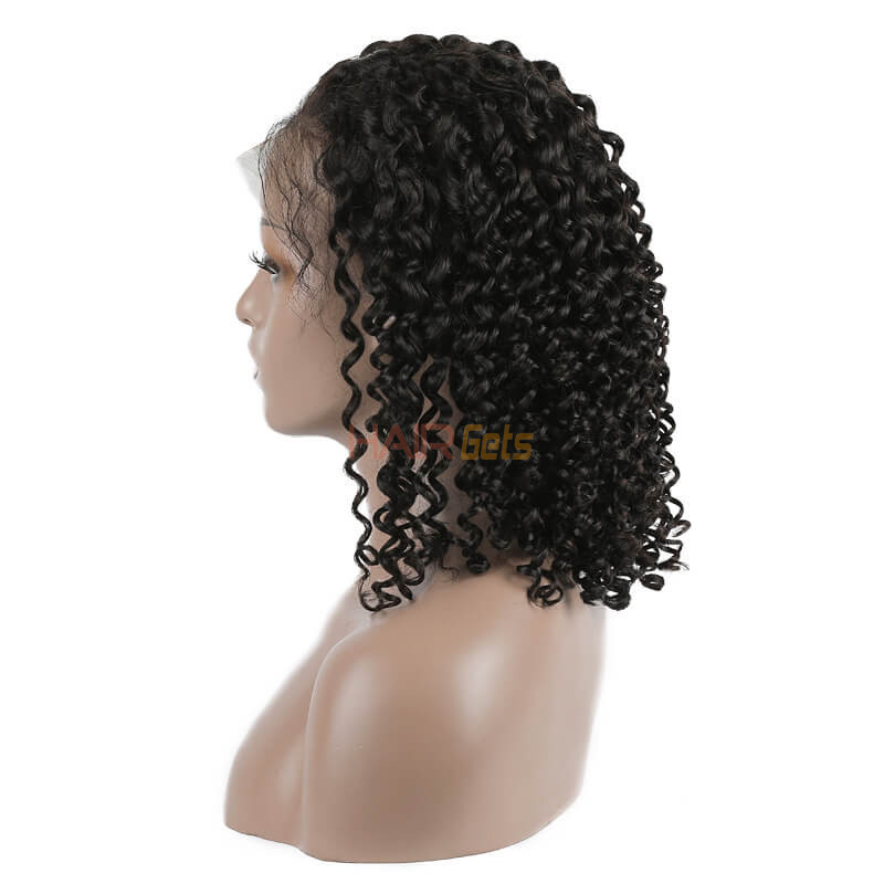 Curly Lace Front Bob Wigs, 100% Remy Hair Wig On Sale 10-22 inch 1