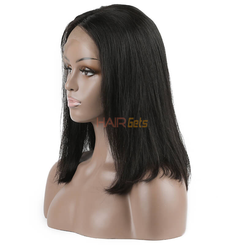 Lace Front Straight Bob Wigs 10 inch-30inch, Real Virgin Hair Wig 0