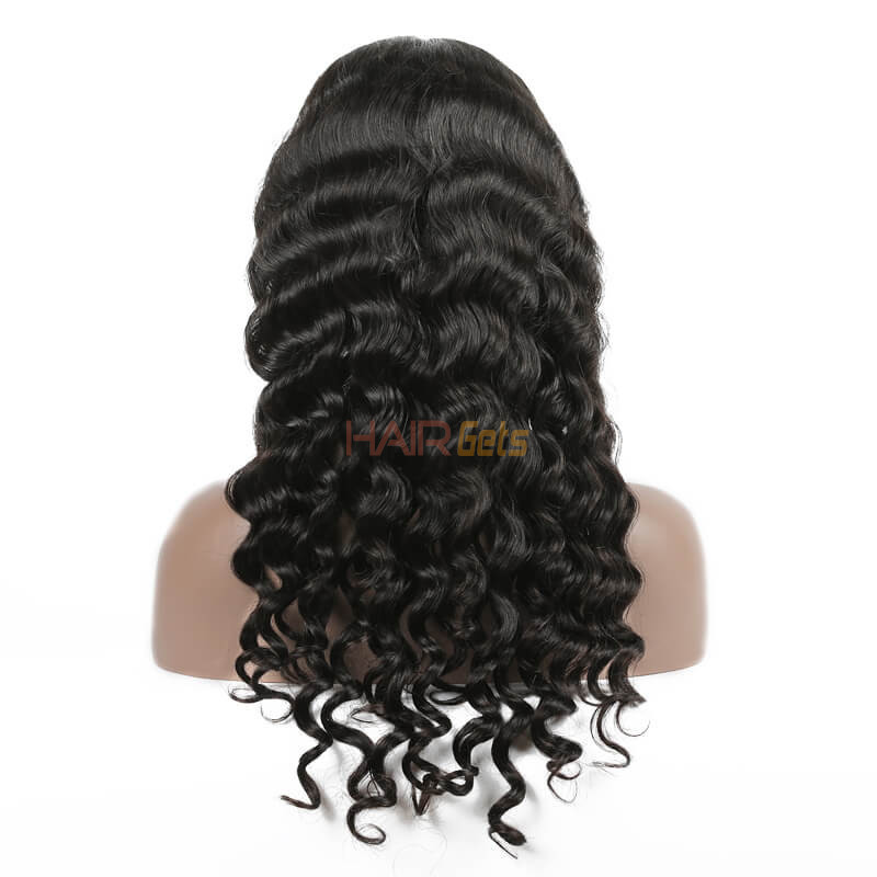 Loose Curly Lace Front Wigs, Human Hair Wigs With Discount 12-30 Inch 2
