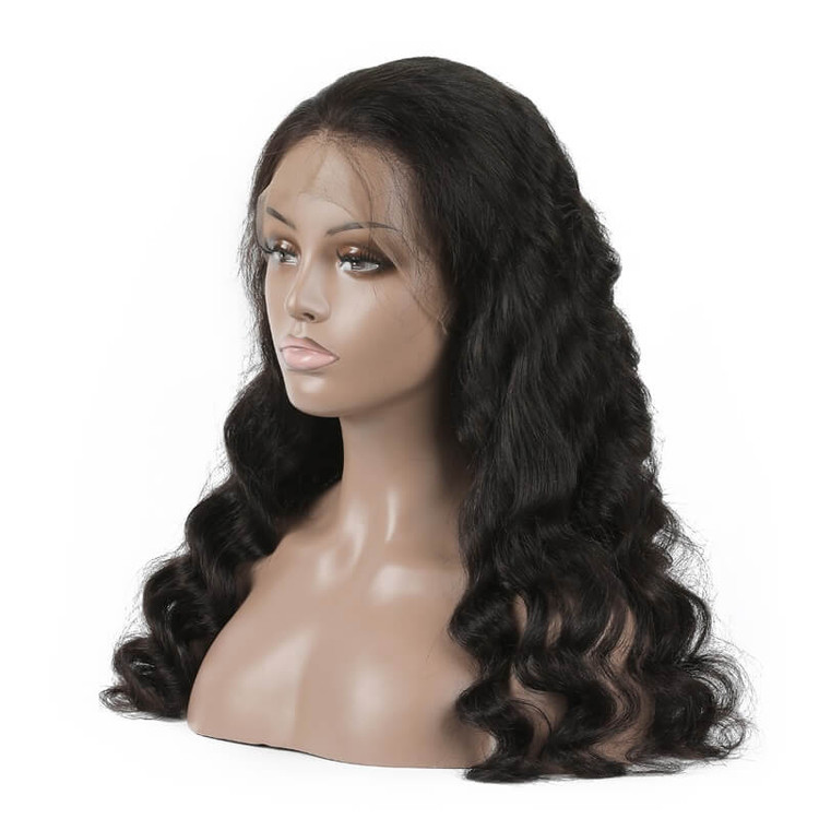 Best Quality Loose Wave Lace Front Human Hair Wig Soft Like Silk lfw011 0
