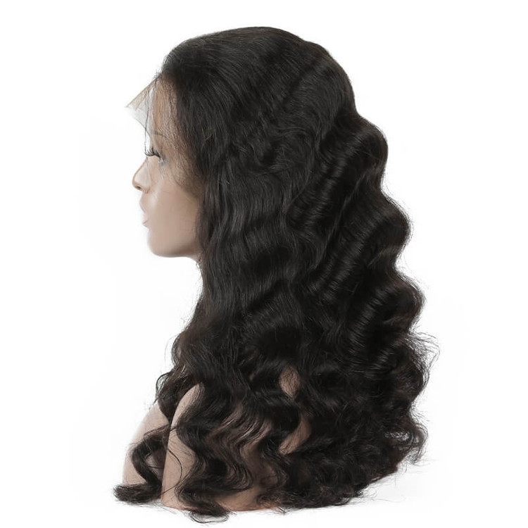 Best Quality Loose Wave Lace Front Human Hair Wig Soft Like Silk lfw011 1