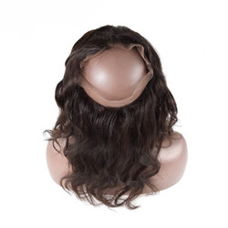 Cheapest Virgin Hair Body Wave 360 Lace Frontal, Natural Back 8A 360lf002