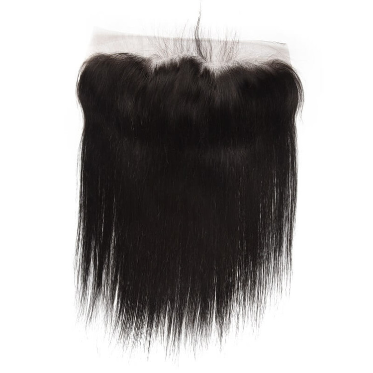 Silky Straight Lace Frontal Made by Real Virgin Hair On Sale 8A lf001