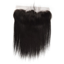 Silky Straight Lace Frontal Made by Real Virgin Hair On Sale 8A