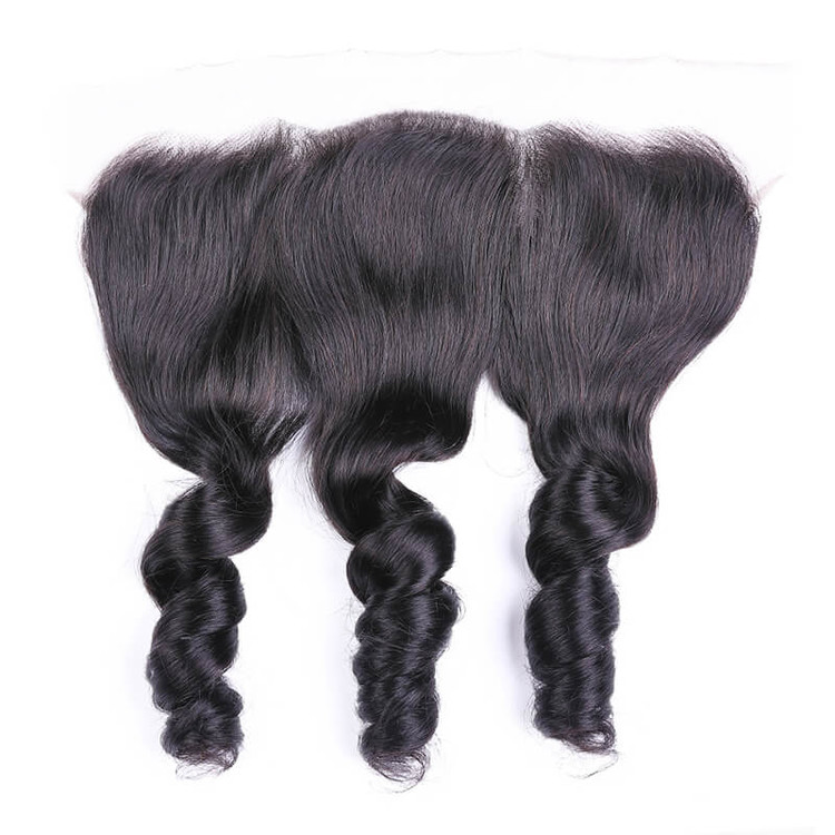 Best Selling 13x4 Loose Wave Virgin Human Hair Lace Frontal For Women lf003