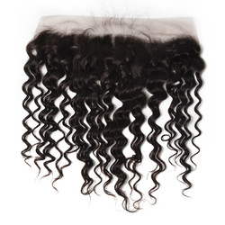 Soft Like Silk Brazilian Hair Frontal, Water Wave Lace Frontal 13x4 Inches