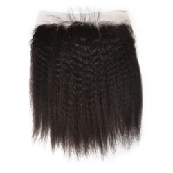 Hot sale Virgin Kinky Straight Hair 13x4 Lace Frontal Back