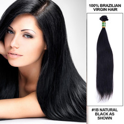 1 Bundle 7A Silky Straight Brazilian Hair Bundles max length