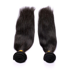 2 Bundles 7A Virgin Brazilian Hair Bundles Straight Natural Color