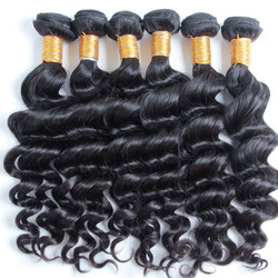 4 pcs 8A Brazilian Virgin Hair Weave Natural Wave
