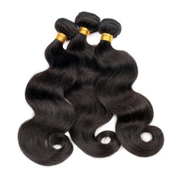 3 Bundles 7A Brazilian Virgin Hair Bundles Body Wave Natural