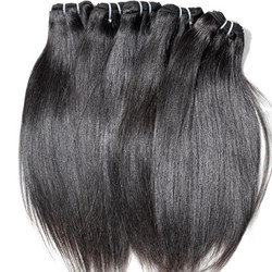 4pcs 7A Virgin Indian Hair Natural Black Silky Straight ihw004
