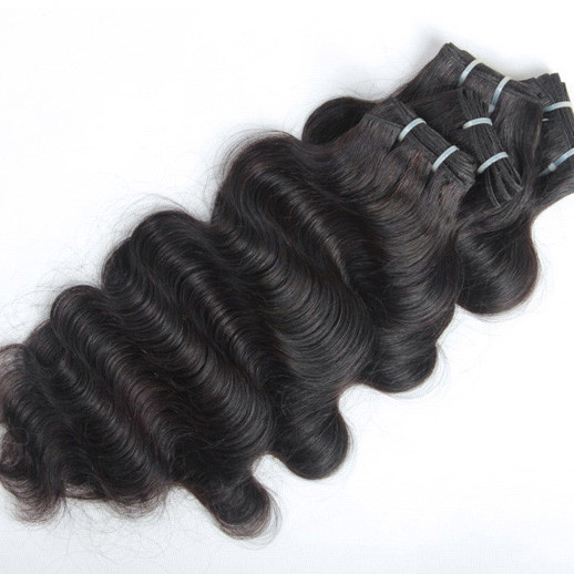 4pcs 7A Virgin Indian Hair Natural Black Body Wave ihw008