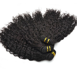 7A Malaysian Virgin Hair Weave Romance Curl Natural Black mhw019