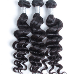 3 bundles 7A Peruvian Virgin Hair Natural Wave Natural Black Price phw019