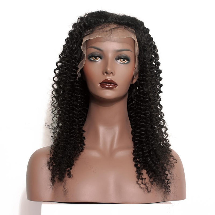 Human Hair Wig, Curly Full Lace Wigs Smooth Like Silk, 14-30 inch flw003