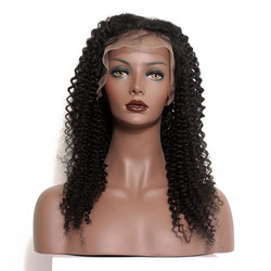 Human Hair Wig, Curly Full Lace Wigs Smooth Like Silk, 14-30 inch