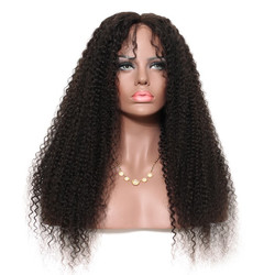 Kinky Curly Full Lace Wig, 100% Virgin Hair Curly Wigs For Women