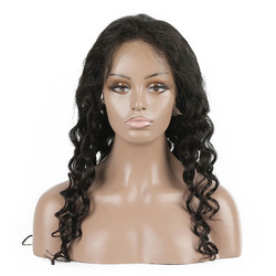 Natural Wave Lace Front Wig, 10-28 inch Beautiful & Bouncy Wigs