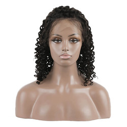 Curly Lace Front Bob Wigs, 100% Remy Hair Wig On Sale 10-22 inch