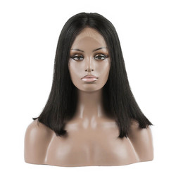 Lace Front Straight Bob Wigs 10 inch-30inch, Real Virgin Hair Wig