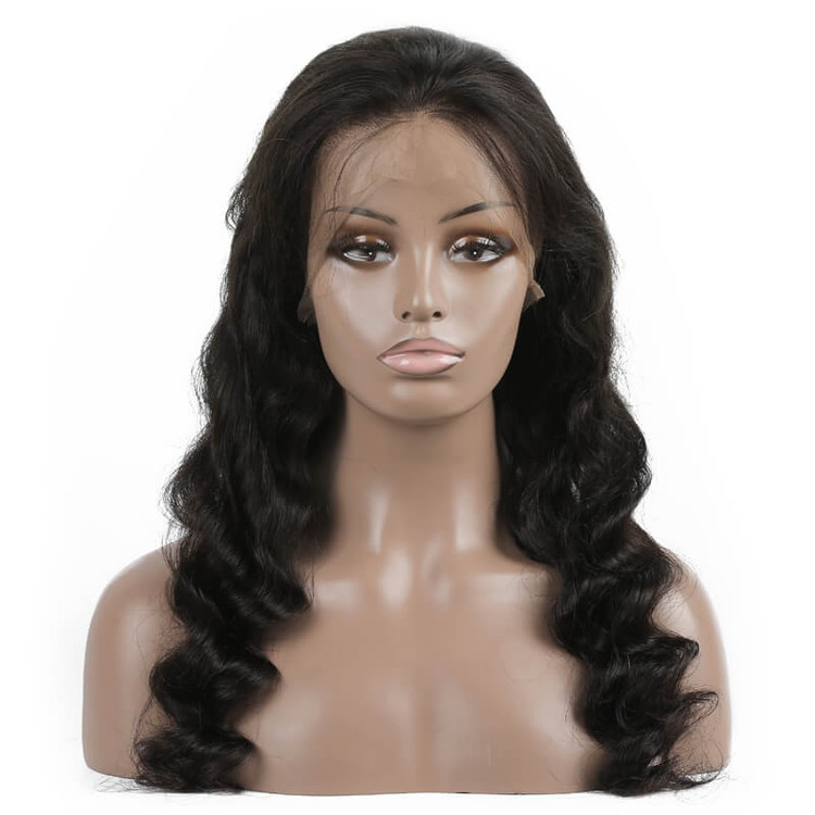 Best Quality Loose Wave Lace Front Human Hair Wig Soft Like Silk lfw011